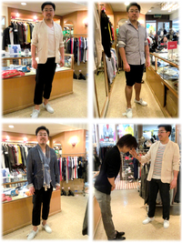 安心してください、本日店長不在です(^^) -Mens apparel ADAM-