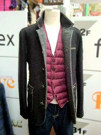 メンズコート着こなし ~バランスと素材感を大切に~ -Mens apparel ADAM-