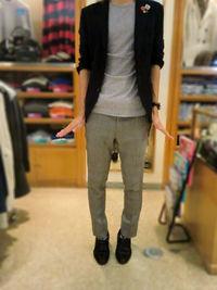 お洋服の袖丈修理について -Mens apparel ADAM-