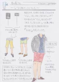 イタオヤ的夏の着こなし その④ 〜ショーツ(短パン)編 〜