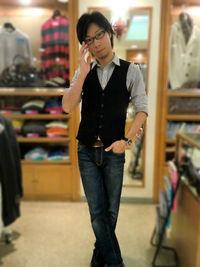 シャツ×ネクタイ着こなし -Mens apparel ADAM-