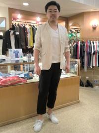 【B1 アダム洋品店】 勝手にファッションショーinアダム