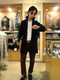 ファッションかぶりたくない貴方様へ贈る、アヴァンギャルドな逸品ご案内 -Mens apparel ADAM-