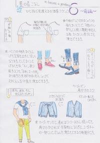 ファッション解説 Vol.28 〜夏の着こなし まとめ メンズ 〜
