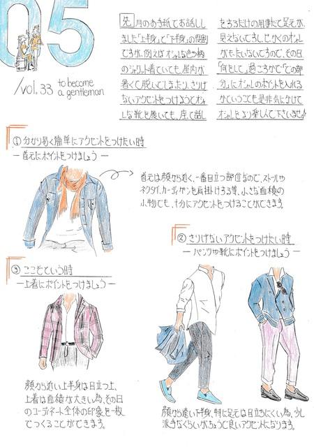ファッション解説 Vol.50 ~ メリハリの付け方について メンズファッション ~