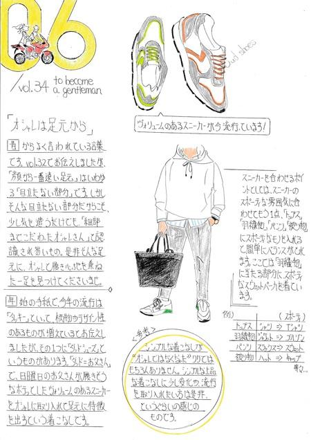 ファッション解説 Vol.51 ~ 夏の着こなしについて メンズファッション ~