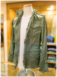 イタリー ブランド Fay M-65フィールドジャケット (フェイ M-65) ‐新着入荷案内‐