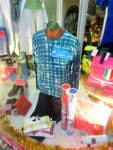 当店の広告塔  -Mens apparel ADAM-