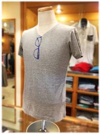 KOBE TARTAN 神戸タータン 新作Tシャツ入荷案内 メガネ柄プリントデザイン
