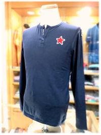 ウザリス2016年秋冬新作 長袖Tシャツ(ロンT) -Mens apparel ADAM-
