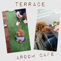 ❤明日~営業時間& aroomCafe terrace❤