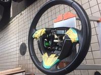 オデッセイのハンドル擦れ 補修