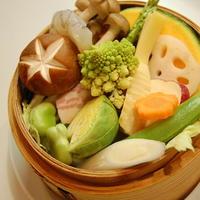 ★2F…イヴカフェ★「季節のお野菜のセイロ蒸し」