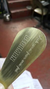 BECKMANオリジナルシューホーン-真鍮製