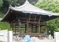 須磨寺の護摩堂が改修工事