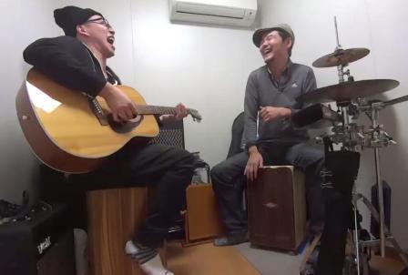 カホンレッスン教室 神戸~大阪間 カホン叩き方 スペイン