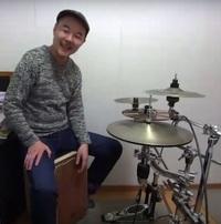 カホンレッスン教室 神戸・大阪 16ビートについて演奏をして頂きました。