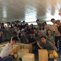カホン自作、手作りワークショップ 神戸・大阪 2016夏 『カホンを作ろう!叩こう!』