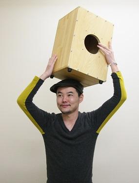 カホン叩き方 ワークショップ ライブイベント 神戸