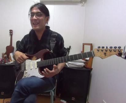 ギターレッスン教室 神戸・大阪 スライド奏法を使用した演奏