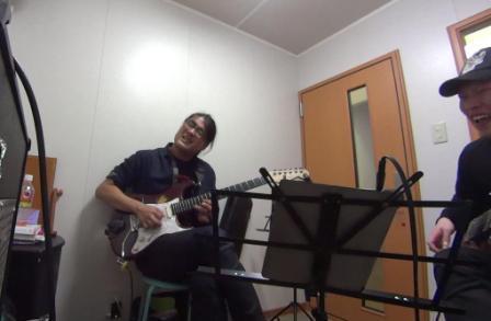 ギターレッスン教室 神戸 レッスン風景2