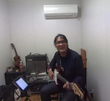 ギターレッスン教室 神戸 バッキングデモ演奏