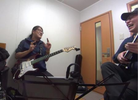 ギターレッスン教室 神戸 レッスン風景 3