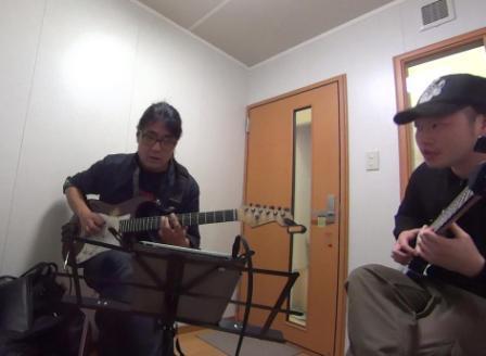 ギターレッスン教室 神戸 レッスン風景
