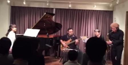 サックスレッスン教室 神戸 発表会での講師演奏