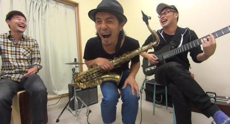 サックスレッスン教室 神戸~大阪間 SWEET MEMORIES演奏