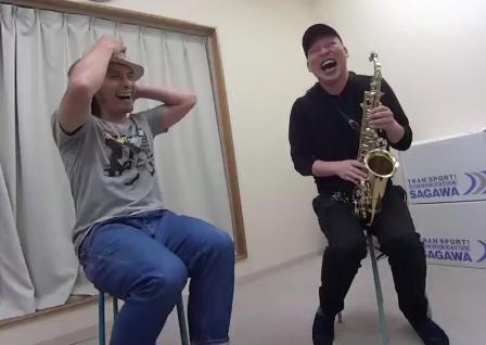 サックスレッスン教室 神戸・大阪 サックス演奏 初のサックス体験