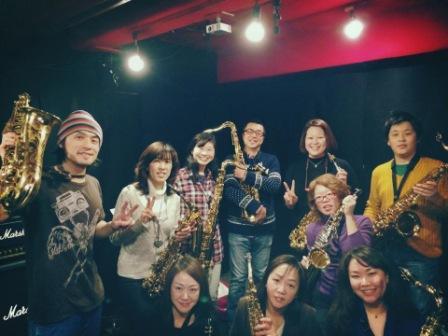 サックスレッスン教室 神戸 20140207