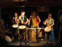 Djembe ジャンベのワークショップとライブイベント神戸にて開催!アフリカ隊出演!