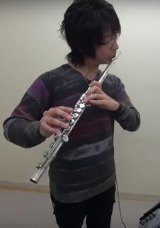 フルートレッスン教室 神戸・大阪 Aura Leeをフルート演奏して頂きました!