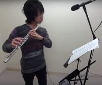 フルートレッスン教室 神戸・大阪 フルート演奏 『愛の賛歌』!!
