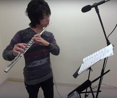 フルートレッスン教室 神戸・大阪 愛の賛歌をフルート演奏