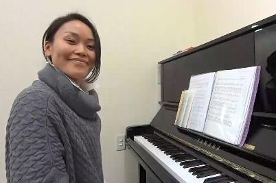 声楽レッスン教室 神戸・大阪 故郷の3番を歌って頂きました!