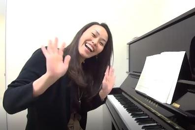 声楽レッスン教室 神戸・大阪 Car mio benを歌って頂きました!