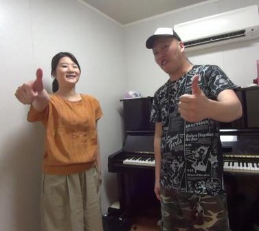 声楽レッスン教室 神戸 腹式呼吸確認