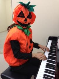 子どもピアノ・リトミック レッスン教室 先生の想い。happy halloween!!!!