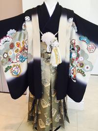 753  5歳用 絹の羽織袴