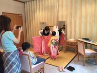西宮神社にて753衣装レンタル会