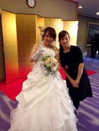 晴れました結婚式