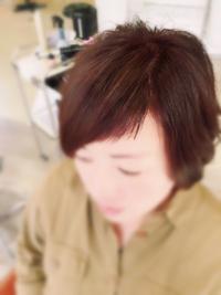 前髪の1ミリ