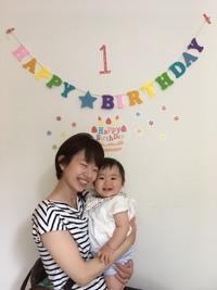 1歳の誕生日☆