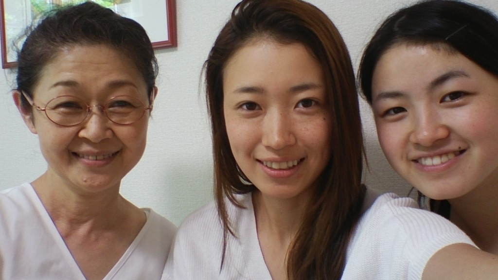 若い女性鍼灸師さんが見学に!(^^)!