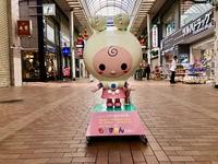 元町1番街に「もとずきんちゃん」登場!