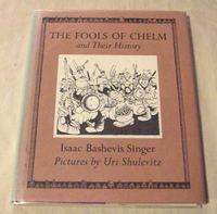絵本 Uri Shulevitz : The Fools of Chelm and Their History