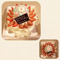 布仁美さんの手まりと、ケーキ。