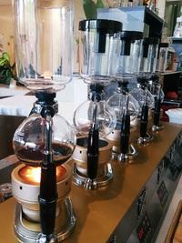 サイフォンコーヒーの店